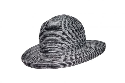 Rigon---Sun-hat-for-women---Helena---Black-/-white