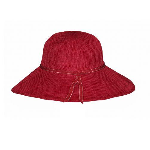Rigon---UV-Floppy-hat-for-women---Suzi---Poppy-red