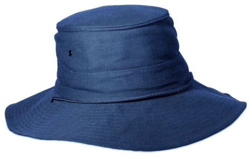 Rigon---UV-boonie-hat-for-men---Blue-/-Dark-grey
