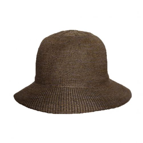 Rigon---Bucket-hat-for-women---Suede-brown