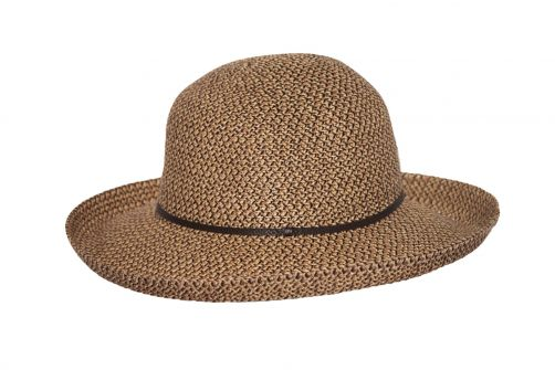 Rigon---UV-sun-hat-for-women---Chocolate-brown