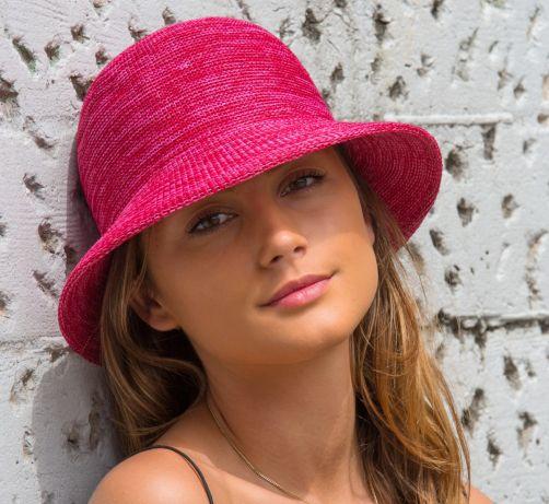 Rigon---Bucket-hat-for-women---Raspberry-pink