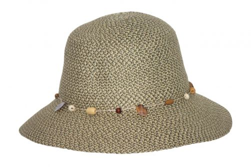 Rigon---UV-bucket-hat-for-women---Pistachio-green-fleck