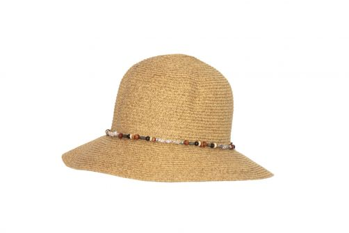 Rigon---UV-bucket-hat-for-women-with-beads---Natural