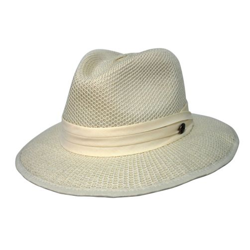Rigon---UV-fedora-hat-for-men---Mandalay---Cream-white