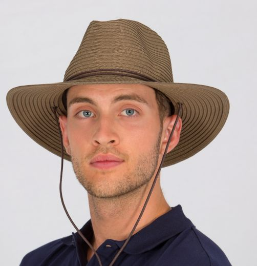 Rigon---UV-Safari-hat-for-men---Khaki