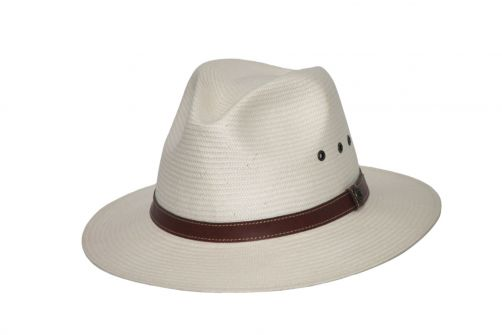 Rigon---UV-fedora-hat-for-men---Apollo---Cream-white