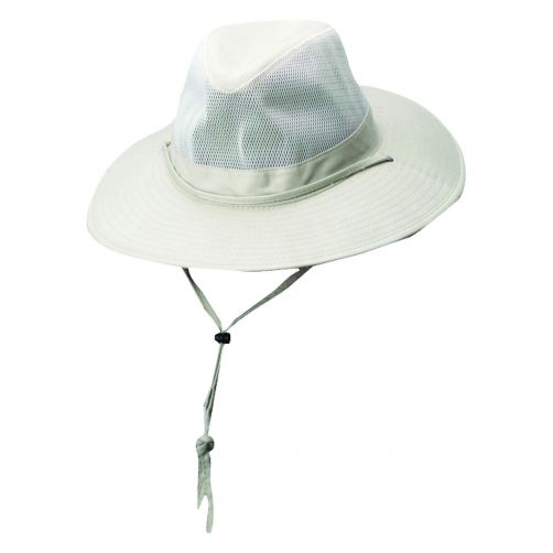 Dorfman-Pacific---Safari-hat-with-cord-for-Men---Oat