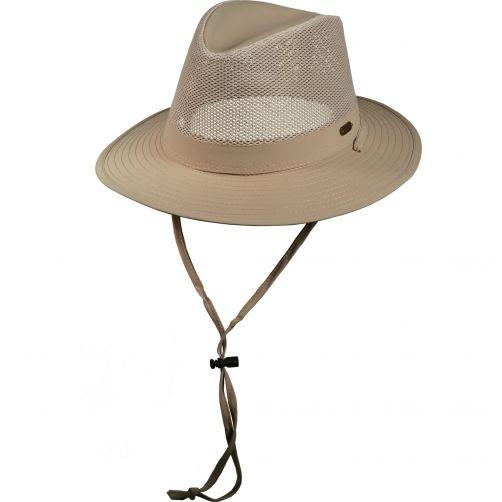 Stetson---UV-Hat-for-men-with-cord---Kaki