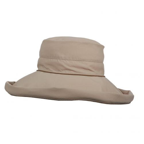 Stetson---UV-hat-with-big-brim-for-women---Brown