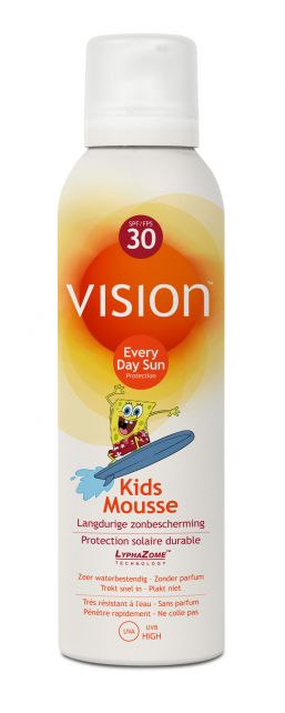 Vision---UV-sun-mousse---Kids-SPF30