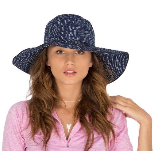 Rigon---UV-Floppy-hat-for-women---Navy-Blue