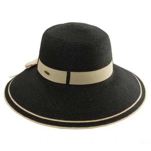 Scala---UPF-50+-Women's-UV-Hat-Black