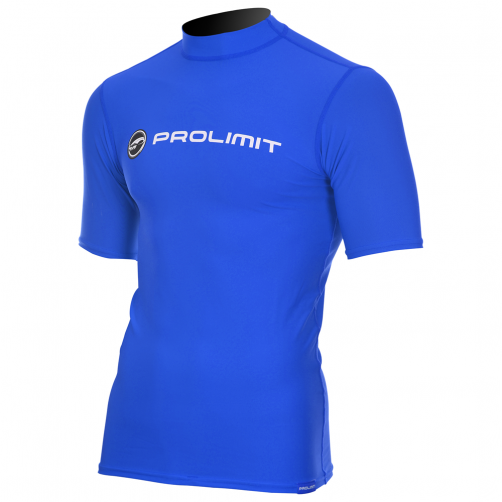 Prolimit---Swim-shirt-for-men-with-short-sleeves---Royal-blue