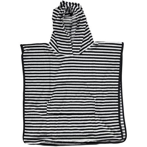 Beach-&-Bandits---Baby-towel-child---Bandit---Black-/-white-stripes