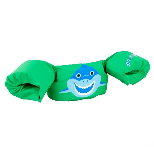 Puddle-Jumpers---Adjustable-floating-suit-Shark---Green