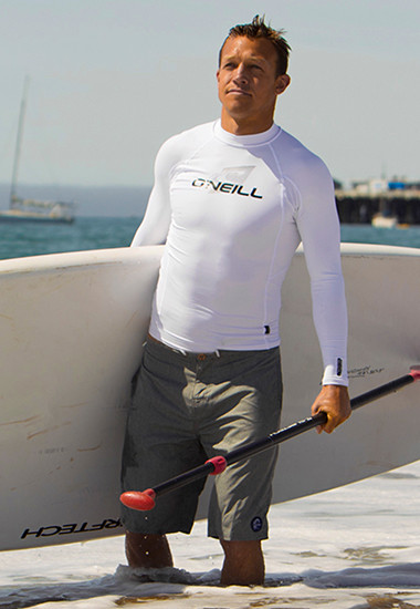UV swim shirts for men