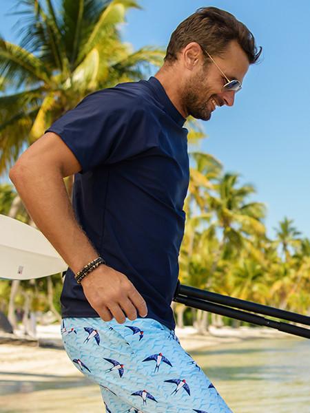 Men UV clothing and swimwear