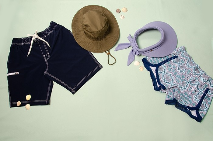 UV protective beachwear