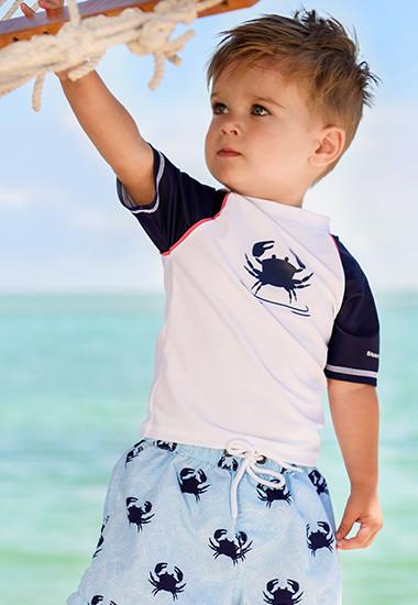 Babies swim shirt