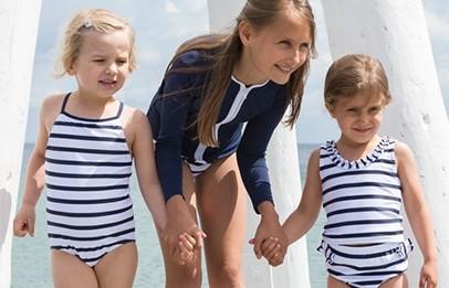 Petit crabe UV swimwear for boys and girls